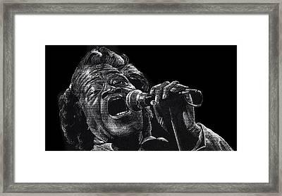 Godfather Of Soul Framed Print