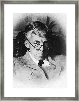 Godfrey Hardy Framed Print by American Philosophical Society
