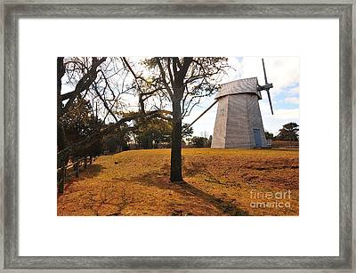 Godfrey Windmill Framed Print by Catherine Reusch  Daley
