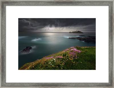 Godrevy Point... Framed Print