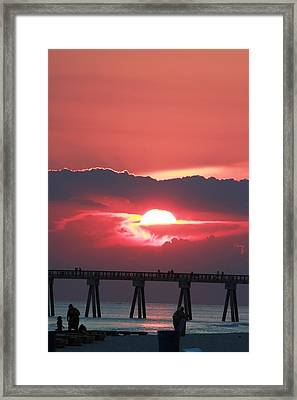 God's Artwork Framed Print