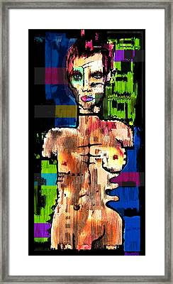 Gods Beautiful And Grotesque Framed Print by Brett Sixtysix