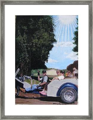 Gods Best Angel Framed Print by Sherryl Lapping