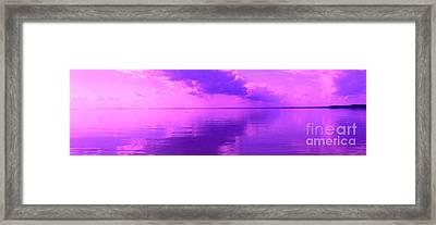God's Canvas Framed Print