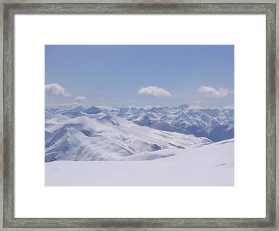 Gods Country Framed Print
