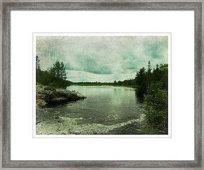 God's Country Framed Print by Dianne  Lacourciere