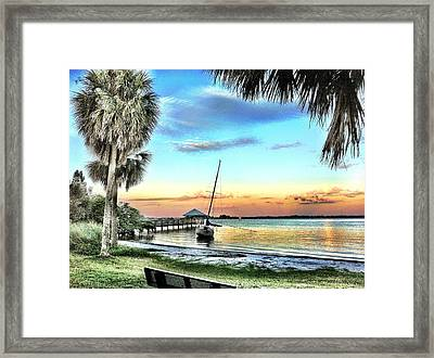 God's Country IIi Framed Print by Carlos Avila