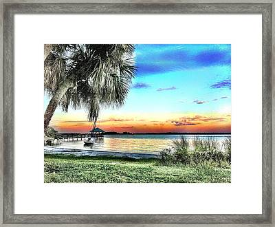 God's Country Iv Framed Print by Carlos Avila