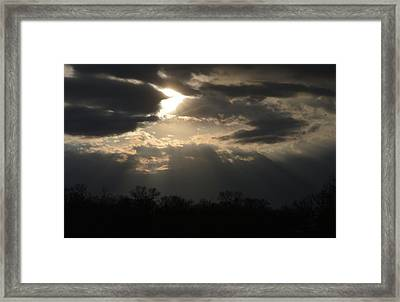 Gods Creation Framed Print