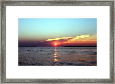 Gods Creation Framed Print by Debra Forand
