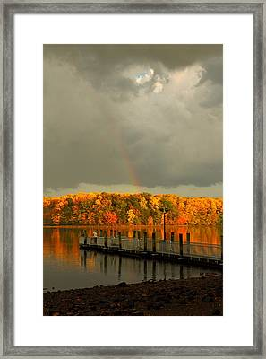 God's Eye Framed Print