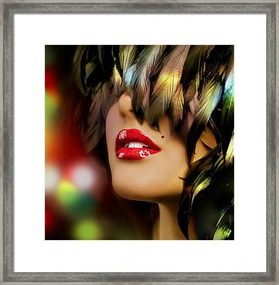 God's Gift Framed Print by Karen Showell