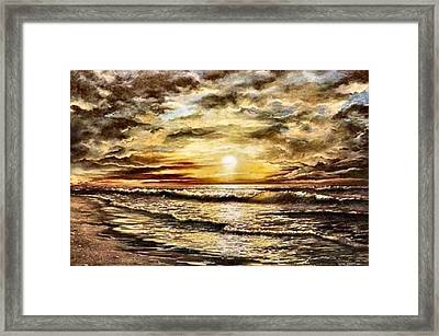 God's Glory Framed Print