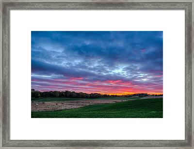 God's Grandeur Framed Print