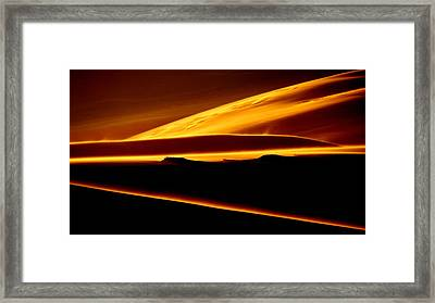 God's Light.. Framed Print
