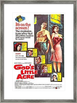 Gods Little Acre, Us Poster, Top Framed Print