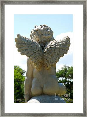 Gods Little Angels Framed Print