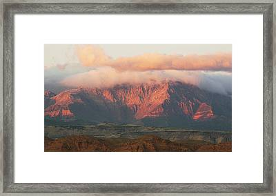God's Mountain Framed Print
