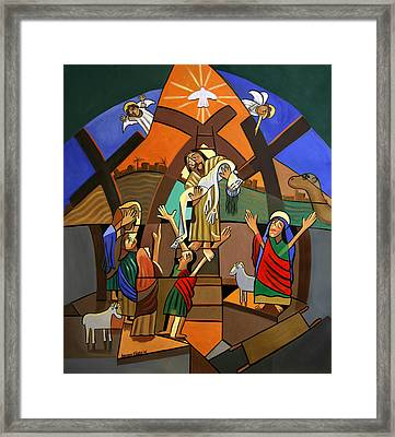 Gods Only Son Framed Print by Anthony Falbo