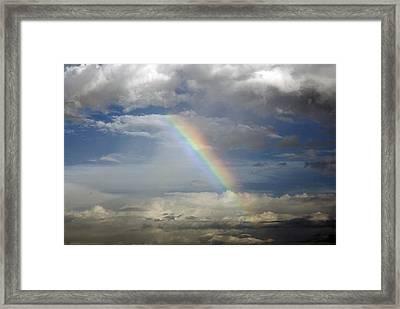 God's Promise Framed Print by Charles Beeler