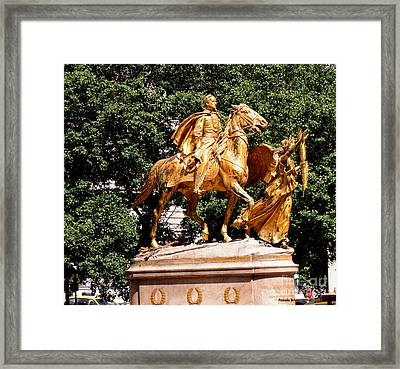 Framed Print featuring the photograph God's Protection by Luther Fine Art