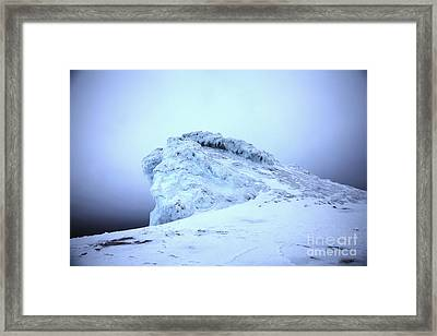 Gods Rock Framed Print