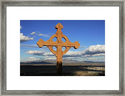 God's View Framed Print