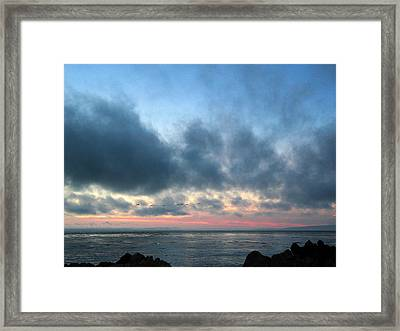 God's Wisdon Framed Print