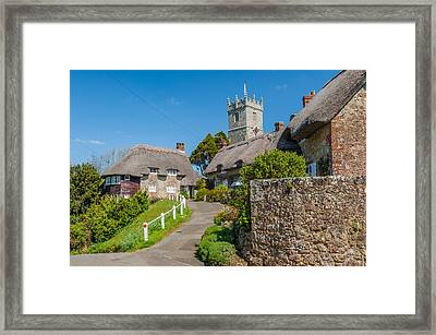 Godshill Isle Of Wight Framed Print by David Ross