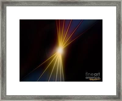 Sparks Framed Print by Dana Haynes