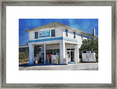 Godwin's Market Framed Print by Betsy Knapp