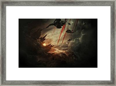 Godzilla 2014 D Framed Print by Movie Poster Prints