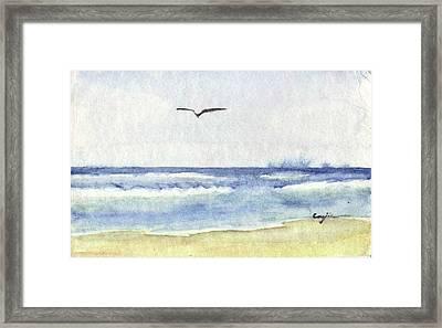 Goelan Atlantique Framed Print