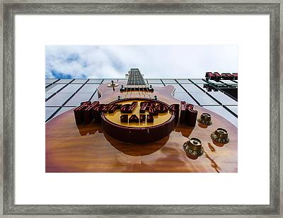 Framed Print featuring the photograph Goes To Eleven by Glenn DiPaola