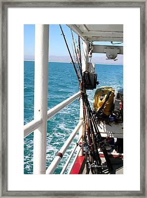 Goin' Fishin' Framed Print by Dick Botkin
