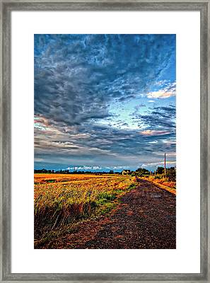 Goin' Home Framed Print
