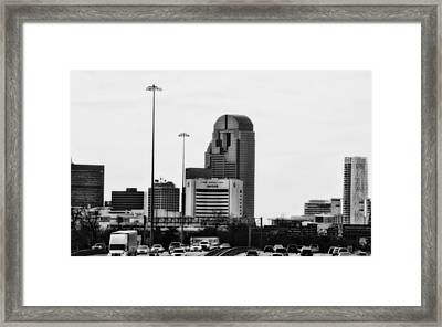 Goin In Coming Out Framed Print