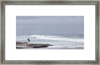 Goin In Framed Print by Peter Tellone