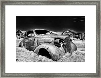 Goin' Nowhere Framed Print by Cat Connor