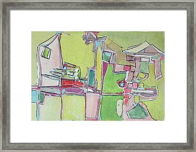 Goin To The Park Framed Print by Hari Thomas