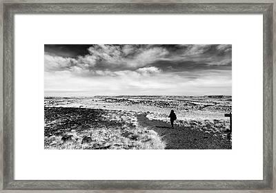 Going Anywhere Framed Print