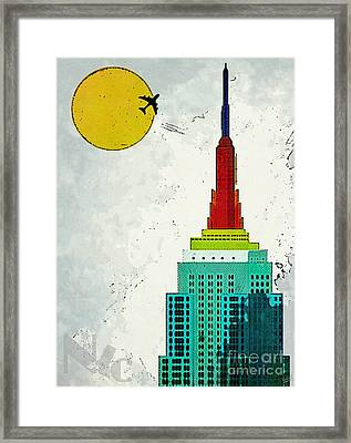 Going Away Framed Print by Nishanth Gopinathan