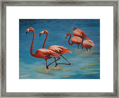 Going Exclusive Framed Print by Pam Kaur