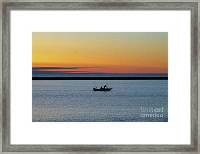 Going Fishing 2 Framed Print by Eric Curtin