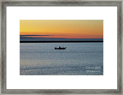 Going Fishing Framed Print by Eric Curtin