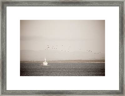 Framed Print featuring the photograph Going Fishing by Erin Kohlenberg