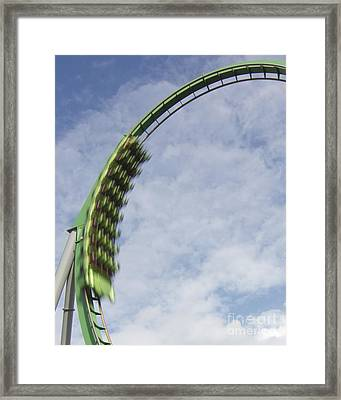 Going Green Framed Print by James Knights
