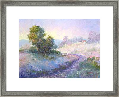 Going Home Framed Print by Christine Bass