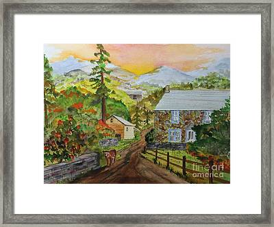 Going Home Framed Print by Jack G  Brauer