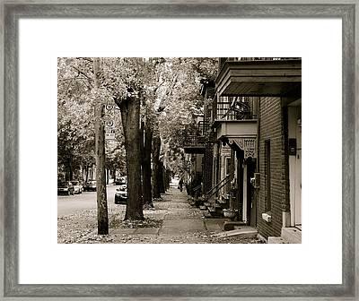 Going Home Framed Print by Jocelyne Choquette